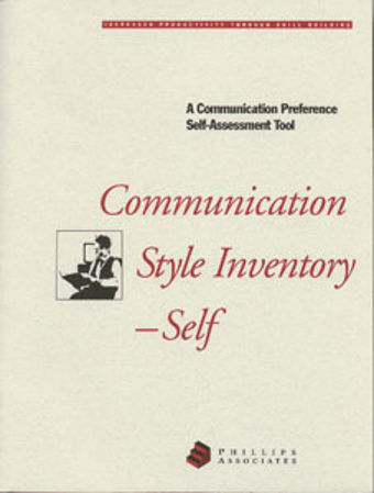 Picture of Communication Style Inventory–Self