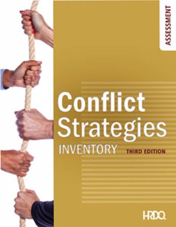 Picture of Conflict Strategies Inventory Self-Assessment
