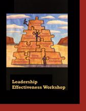 Picture of Leadership Effectiveness Workshop Participant Workbook