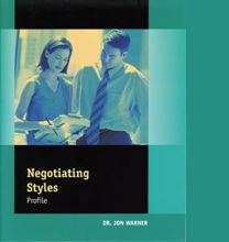 Picture of Negotiating Styles Profile Facilitator Guide