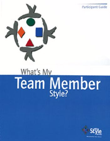 Picture of What's My Team Member Style?-Participant Booklet