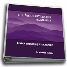 Picture of The Visionary Leader-Trainer Guide