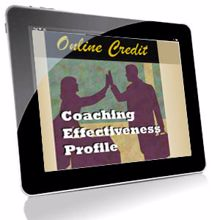 Picture of Coaching Effectiveness Profile – Online Self-Assessment Credit