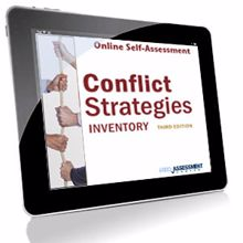 Picture of Conflict Strategies Inventory – Online Self-Assessment Credit