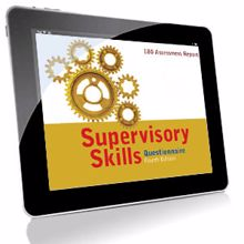 Picture of Supervisory Skills Questionnaire - Online Feedback Credit