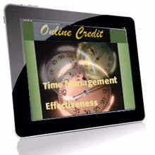Picture of Time Management Effectiveness - Online Credit