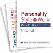 Picture of Personality Style at Work-Info Kit