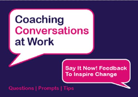 Picture of Say It Now! Feedback to Inspire Change
