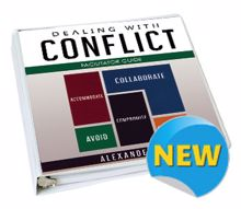 Picture of Dealing with Conflict Facilitator Guide